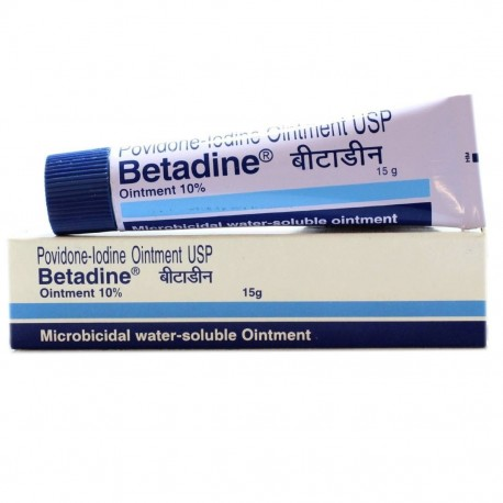 Betadine Ointment - Win Medicare