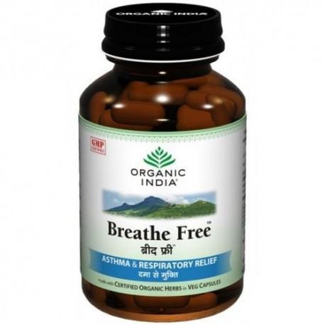 Organic India Breathe Free Capsules, 60 capsules