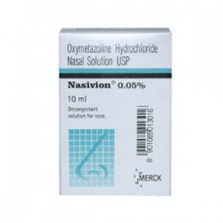 Nasivion nasal solution ( Adult ) - Merck