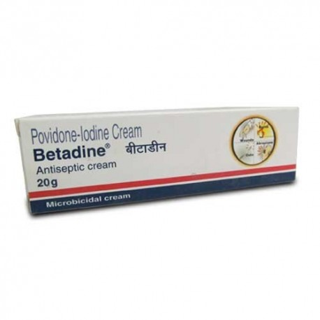 Betadine Cream - Win Medicare