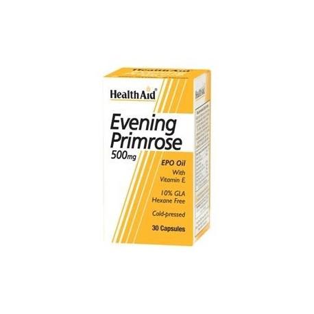 Evening Primrose Oil 500mg with Vitamin E 30 Capsules