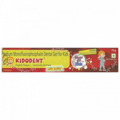 Kidodent Toothpaste - Indoco