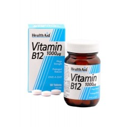 Mega Strength Vitamin B12 1000mcg 60 Tablets