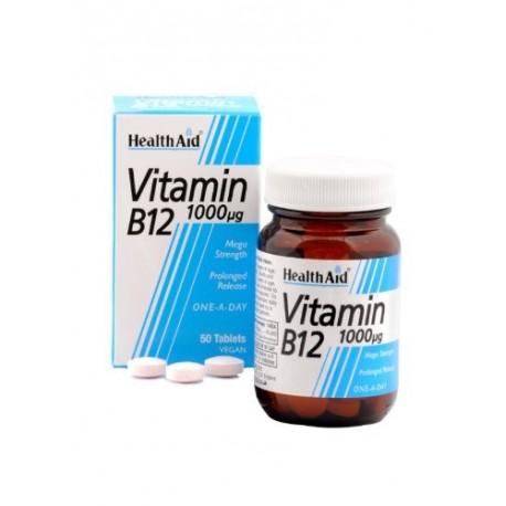 Mega Strength Vitamin B12 1000mcg 60 Tablets
