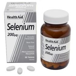 Selenium 200mcg, 60 Tablets - HealthAid