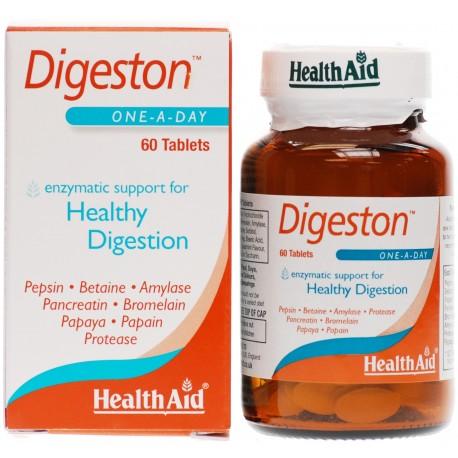 HealthAid Digeston (Papaya and Digestive Enzymes) 60 Tablets