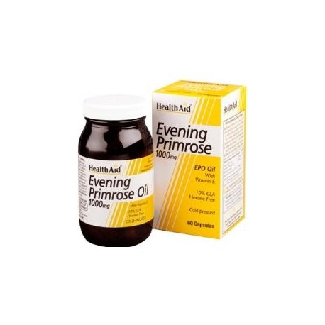 Evening Primrose Oil 1000 mg with Vitamin E 60 Capsules
