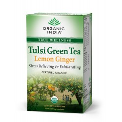 Tulsi Green Tea Lemon Ginger - Organic India