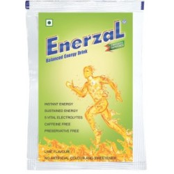 Enerzal Energy drink Lime  - FDC