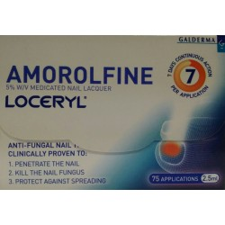 Amorolfine for fungal nail infections - Galderma