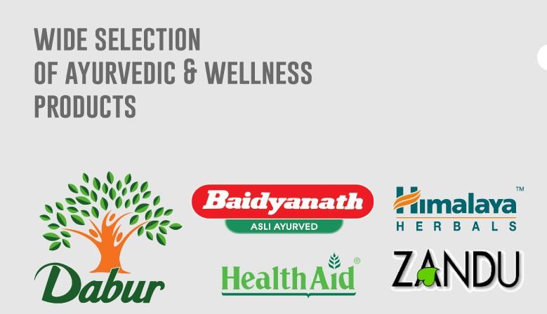 Wide selection of Ayurvedic and Wellness products